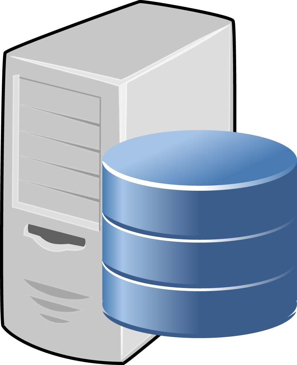 Server Database PNG Image.