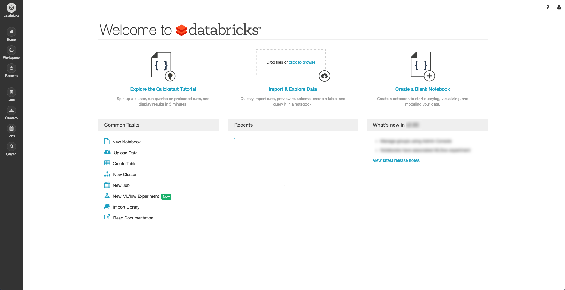 Databricks Quickstart — Databricks Documentation.