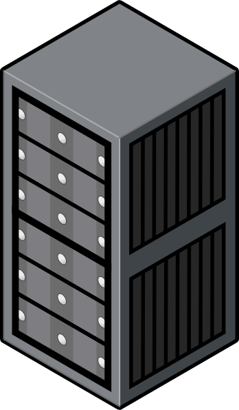 Data Center Clip Art.