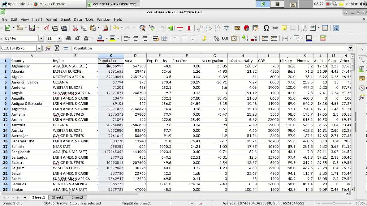 Read Excel with Python Pandas.