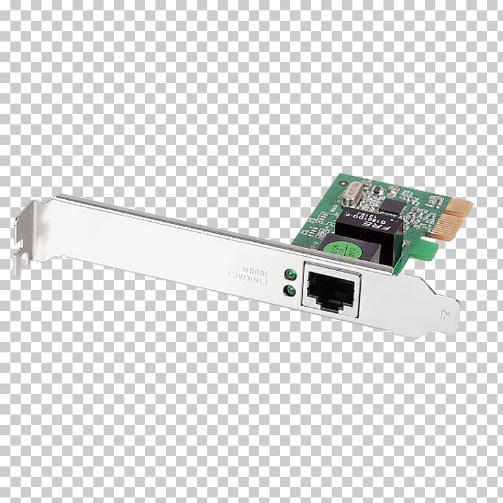 Network Cards & Adapters PCI Express Gigabit Ethernet Edimax.