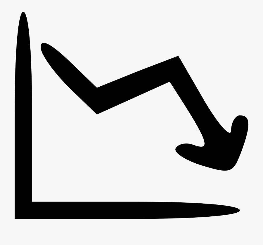 Line Down Png Icon.