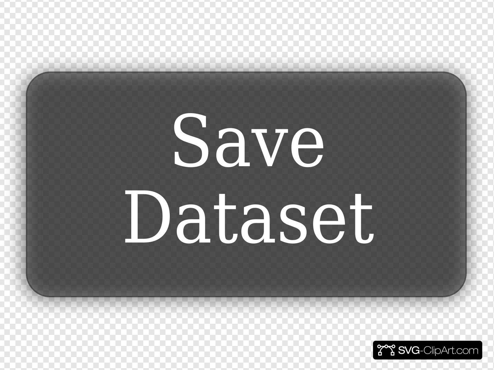 Save Dataset Clip art, Icon and SVG.
