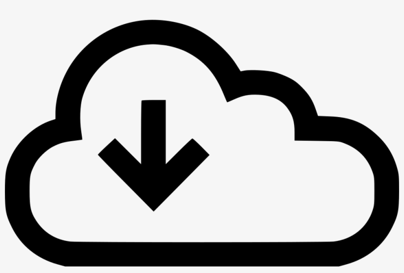 Download Arrow Down Cloud Data Stream Storage Comments.