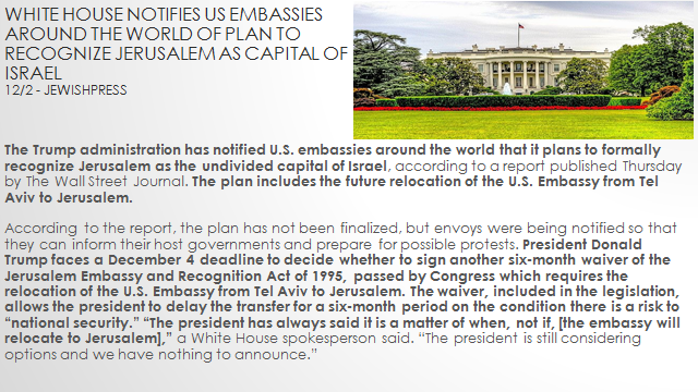 Jerusalem Declaration — End Times Espresso.