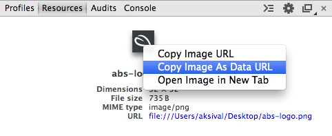 Convert an image to a data URI with your browser · A Beautiful Site.