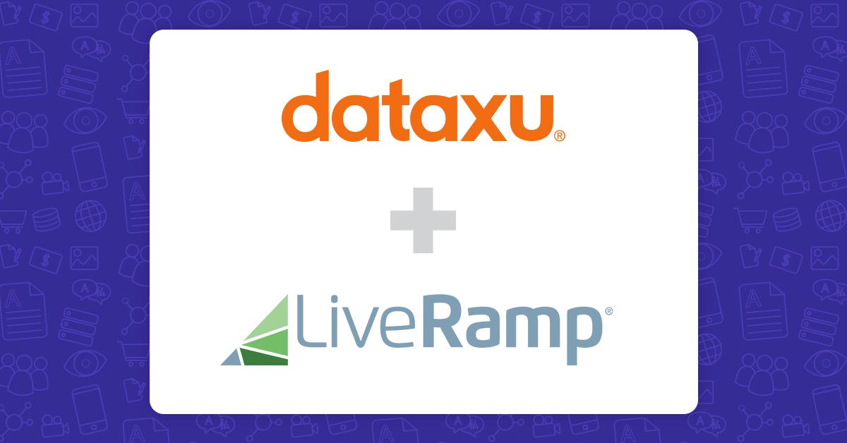 dataxu first to leverage LiveRamp IdentityLink in the bidstream.