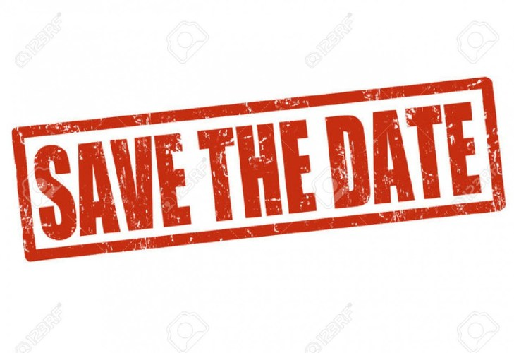 Date clipart save the date.