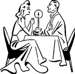 Free Date Night Clipart.
