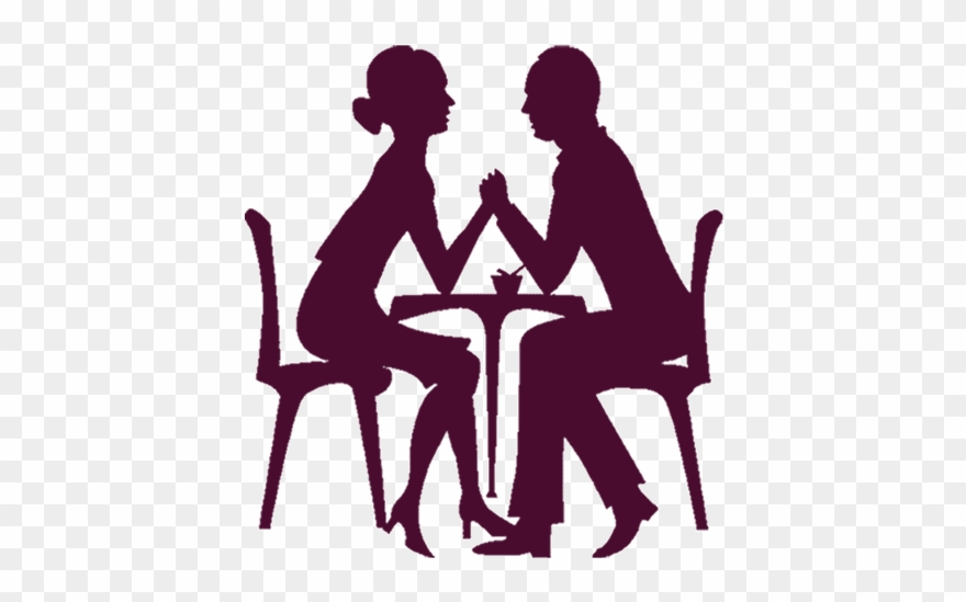 Transparent Date Night Silhouette Clipart (#584669).