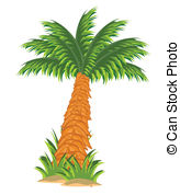 Date palm tree Clip Art Vector Graphics. 222 Date palm tree EPS.