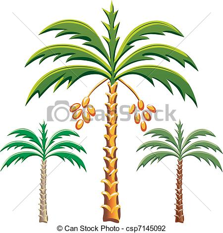Date trees clipart #7