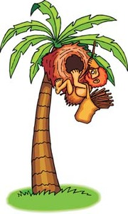 Date Palm Tree Clip Art, Vector Date Palm Tree.