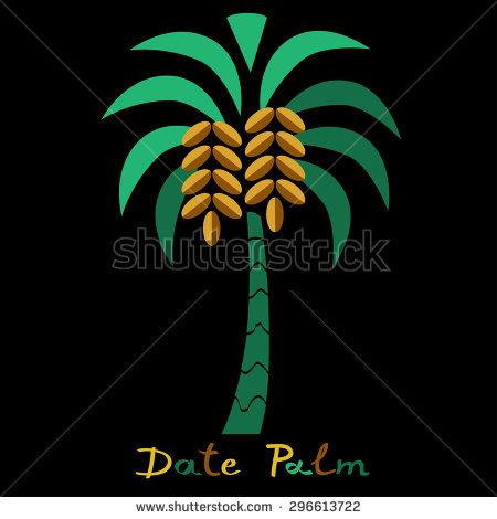 Dates Fruit Tree Stock Vectors, Images & Vector Art.