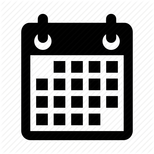 Date PNG Black And White Transparent Date Black And White.PNG Images.