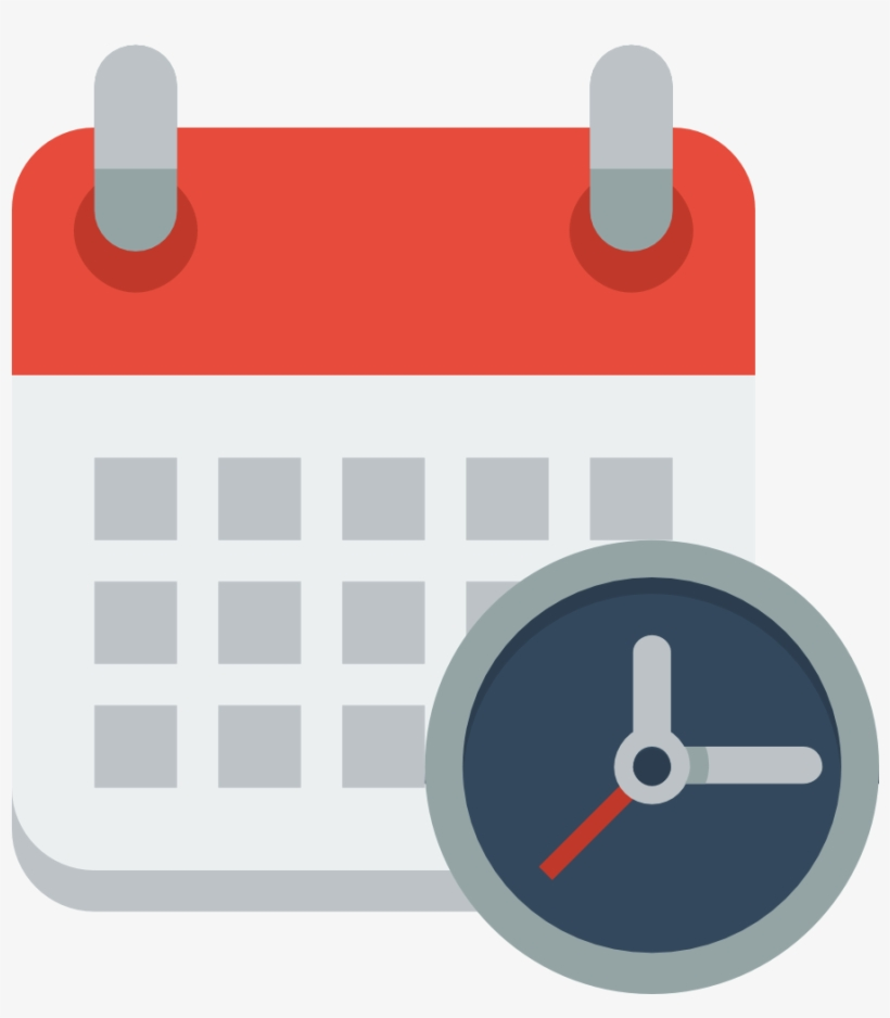 Calendar Clock Icon.