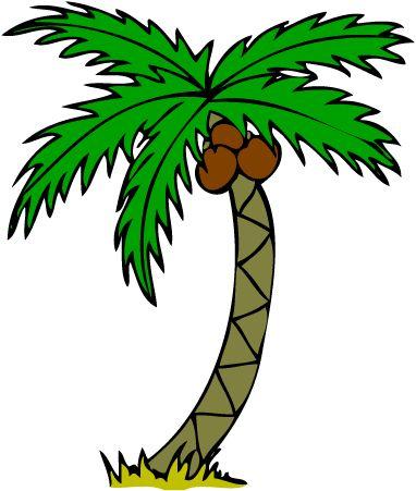 Palm hair clipart #2