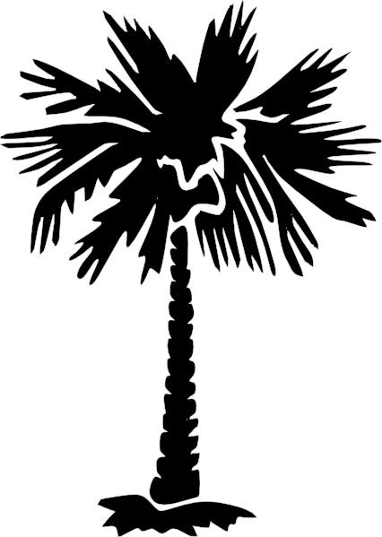 Palm Tree Vector Art.