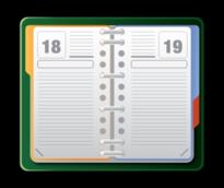 Open Diary clip art vector, free vectors.