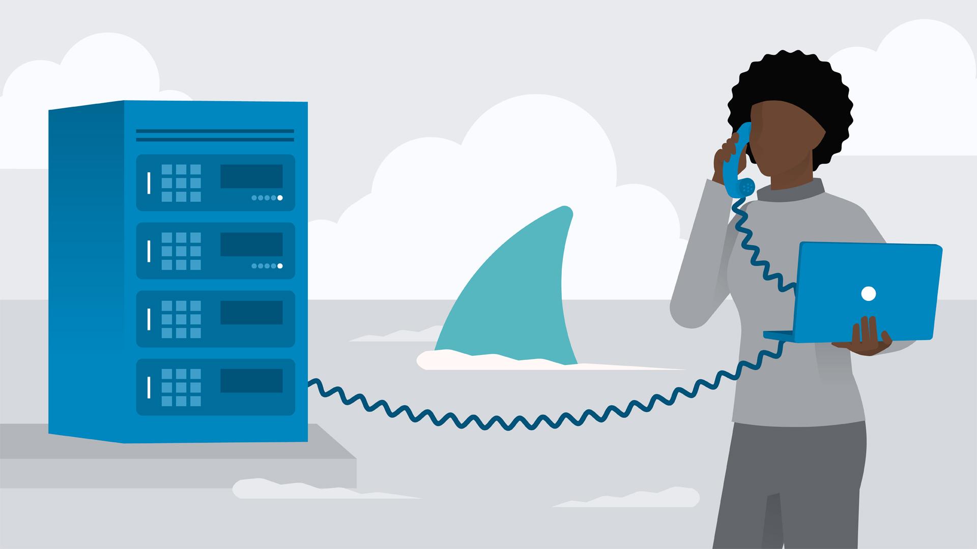 Wireshark: VoIP.