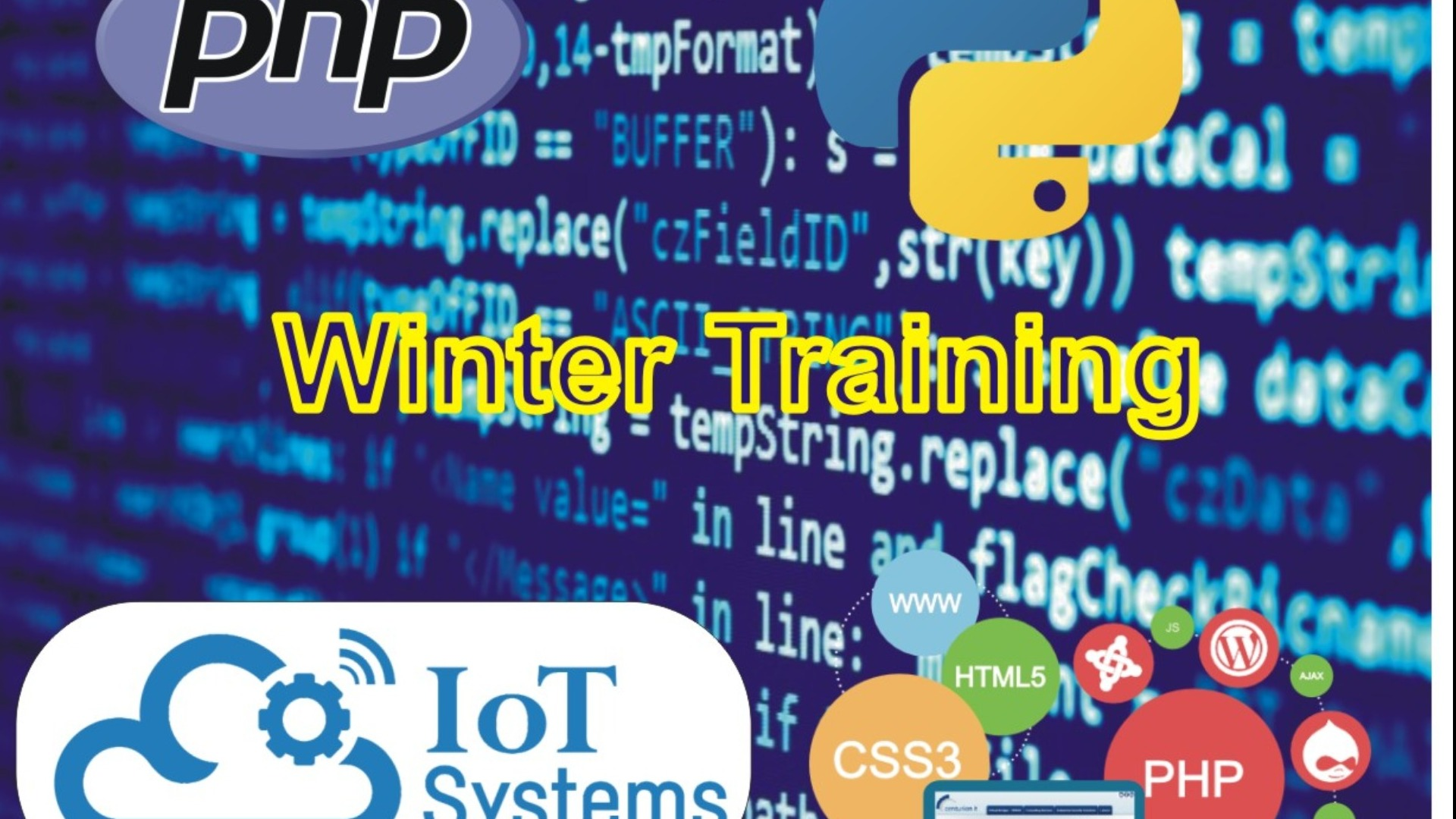 Winter Training Program Tickets by it skills & solution, Wed.