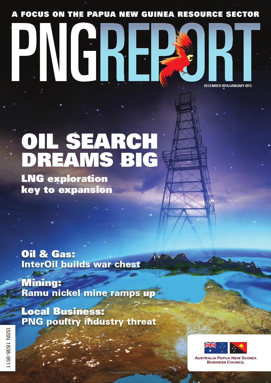 PNG Report magazine December 2014 by Aspermont.