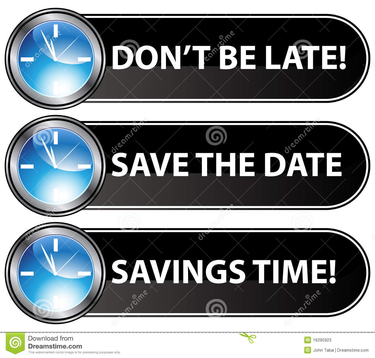Save The Date Time Button Stock Photos.