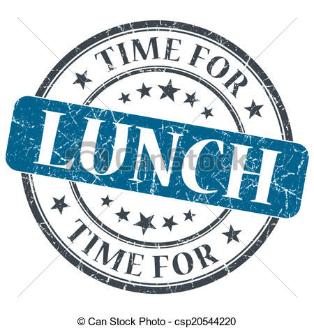 Lunch date clipart stockphoto.
