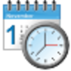 Date And Time Clip Art.