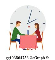 Speed Dating Clip Art.