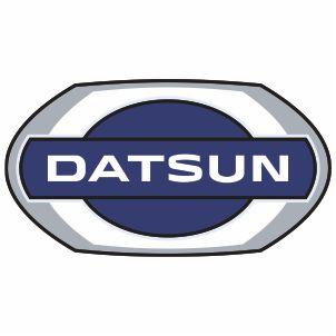 Datsun Brand Logo Vector File.
