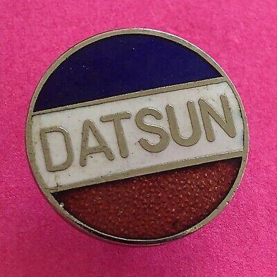 Vintage Enamel DATSUN Auto Car Logo Lapel Pin.