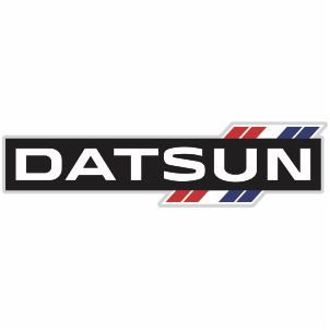 Vector Datsun Car Logo.