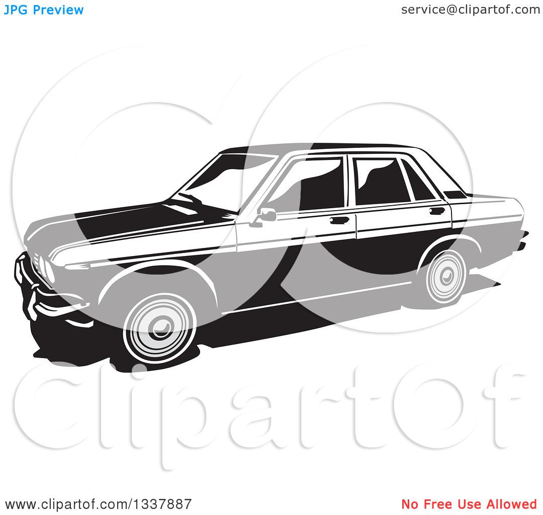 Datsun Car Clipart.