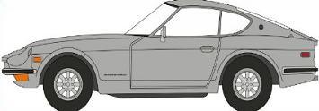 Free Datsun 240Z Clipart.