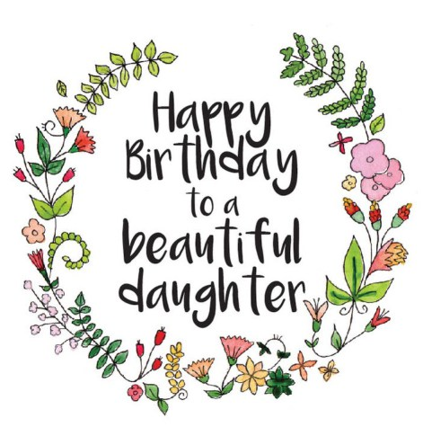 Happy birthday daughter clipart 5 » Clipart Station.