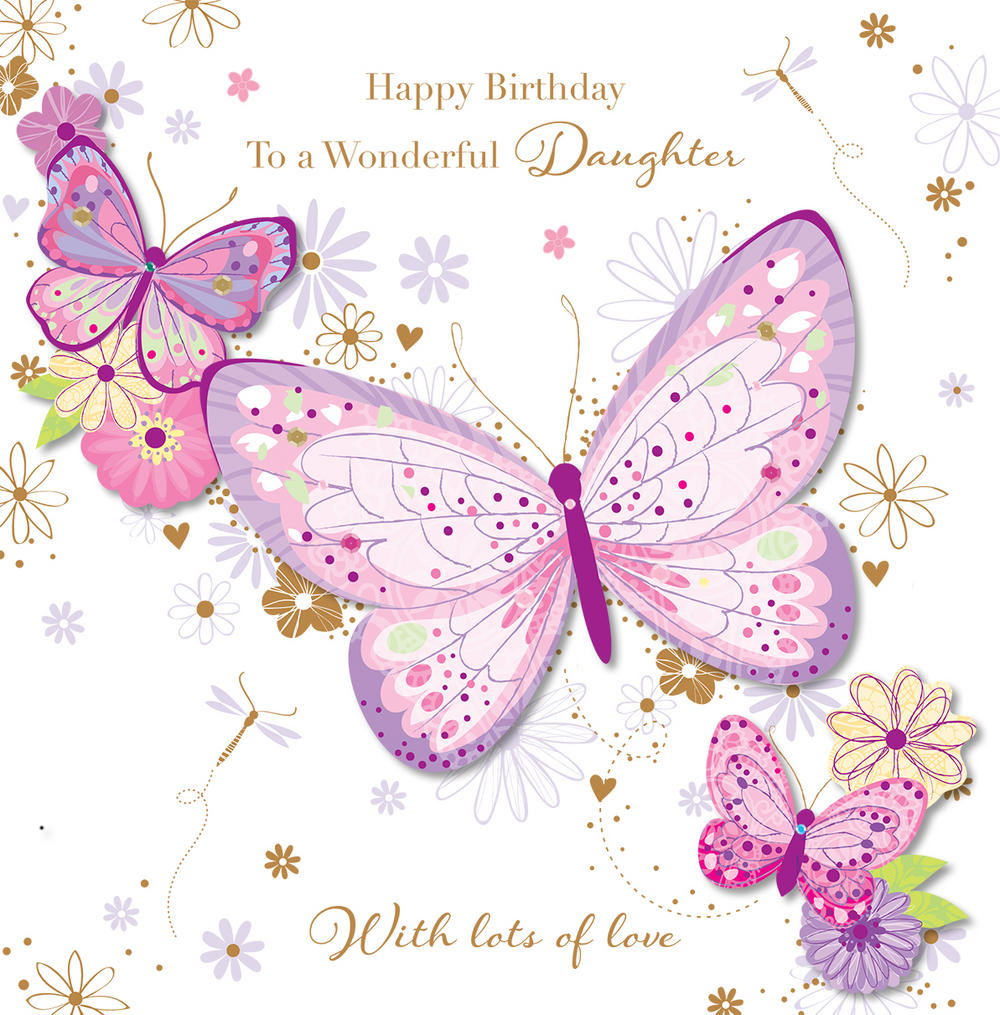 Happy Birthday Clipart For Daughter.