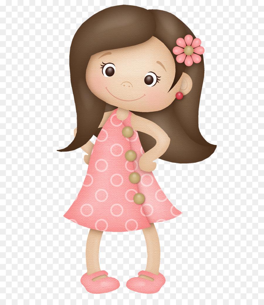 Girl Cartoon clipart.