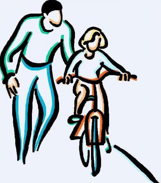 Father And Daughter Clipart.
