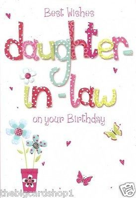 Happy Birthday Daughter In Law.