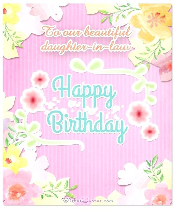 happy birthday daughter in law flowers.
