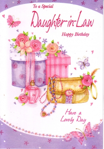 Happy birthday daughter in law clipart 7 » Clipart Station.