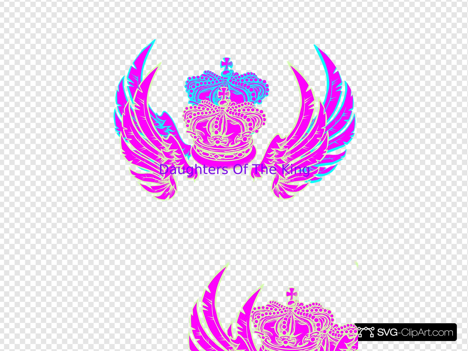 Daughters Of The King Clip art, Icon and SVG.