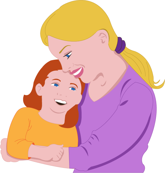 Loving mother clipart #4