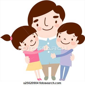 Clip Art About Daughters.