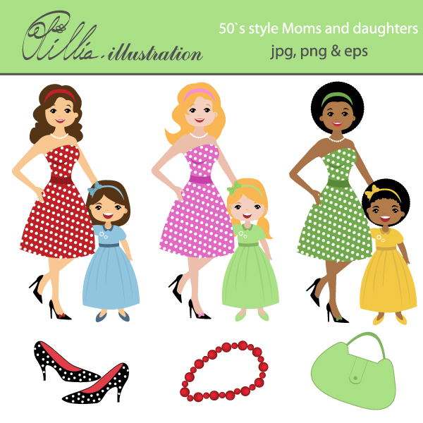 Daughters clipart #6