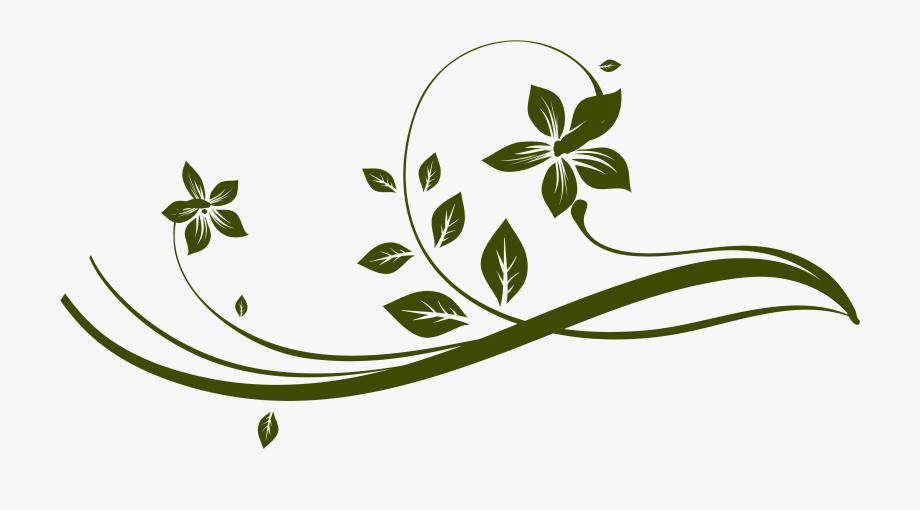 Flourish Clipart Leaf.