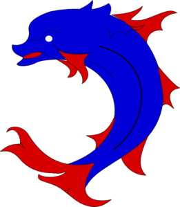 Dauphin Dolphin PNG, SVG Clip art for Web.