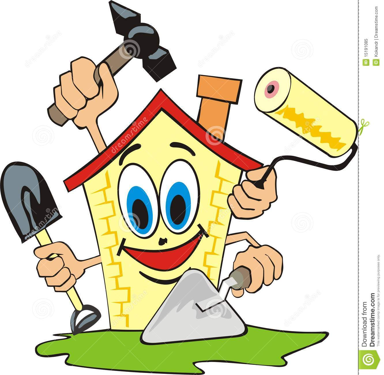 Repairing House Clipart Clipground
