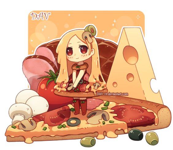 Pizza by *DAV.
